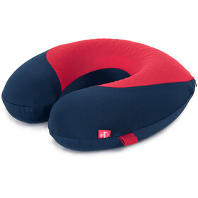 Herschel Memory Foam Pillow navy/red